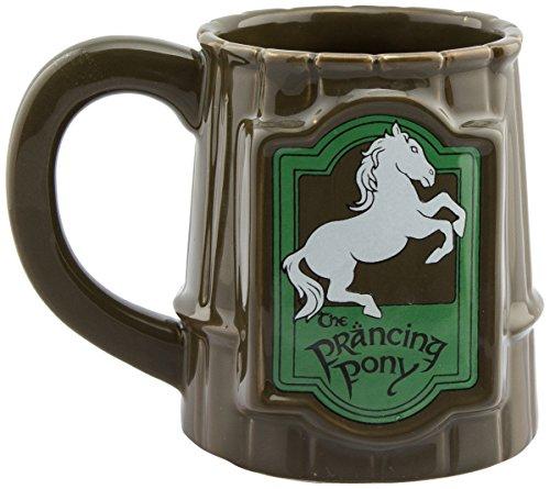 GB eye Lord of The Rings Prancing Pony-Taza, diseño de Poni, cerámica, Varios, 13 x 11 x 11.5 cm