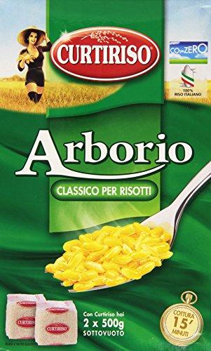 ARROZ ARBORIO CURTIRISO 1KG ARROZ ITALIANO RISOTTO