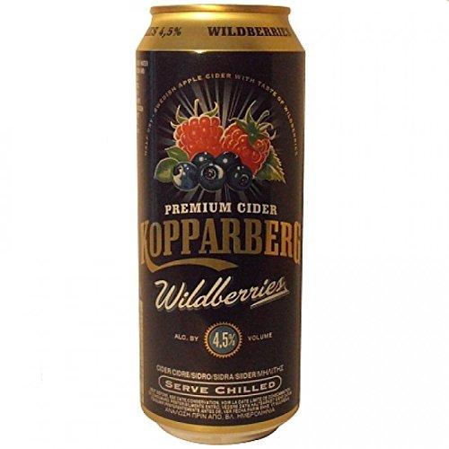 Kopparberg Sidra Wildberries -500 ml (pack de 24 latas)