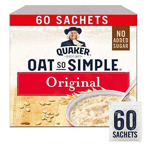 Quaker Oats So Simple Original Microondas 27g Bolsitas X 60 (El embalaje puede variar)