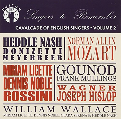 Cavalcade of English Singers Vol.2