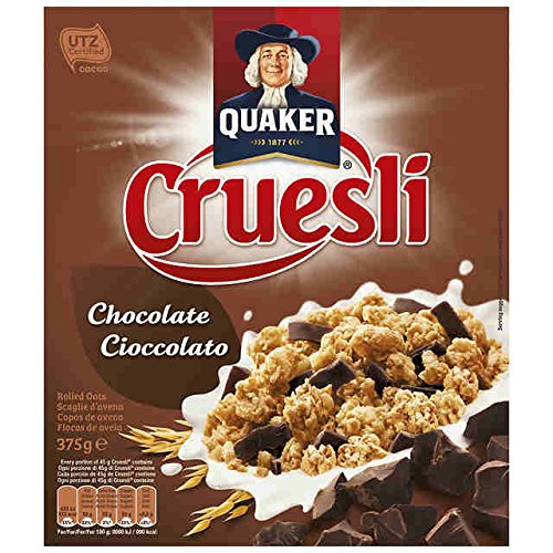 Quaker - Cruesli Chocolate 375 g - [pack de 3]
