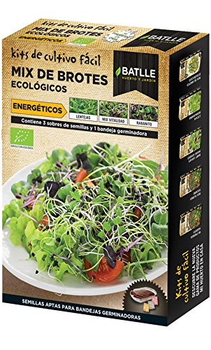 Semillas Ecológicas Bortes - Brotes MIX ECO ENERGETICOS - Batlle