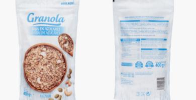 Comprar Granola sin azúcar Mercadona