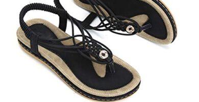Amazon Sandalias Mujer Piel