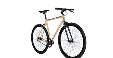 Bicicleta Fixie Carrefour