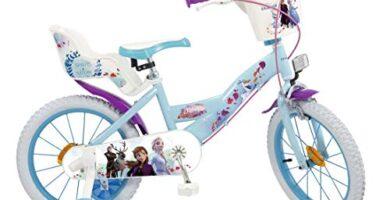 Bicicleta Frozen 20 Pulgadas El Corte Ingles