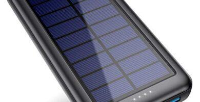 Cargador Solar Movil Decathlon