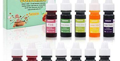 Colorante Alimentario Liquido Mercadona
