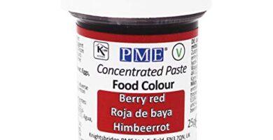 Colorante Alimentario Rojo Mercadona