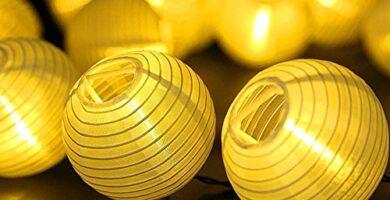 Farolillos Solares Ikea