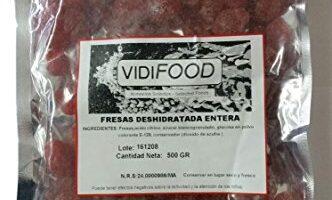 Fresas Deshidratadas Mercadona