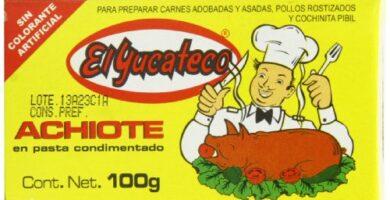 Pasta De Achiote Mercadona