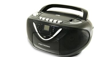 Radio Cassette Cd Carrefour