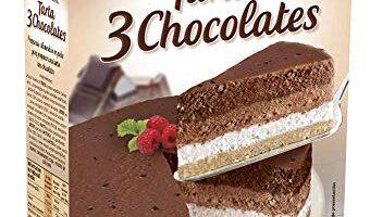 Tarta 3 Chocolates Mercadona